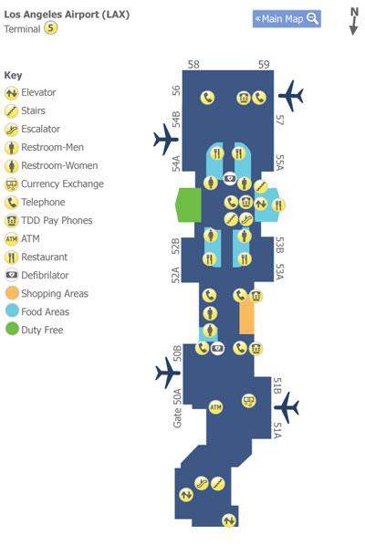 第5ターミナル地図
