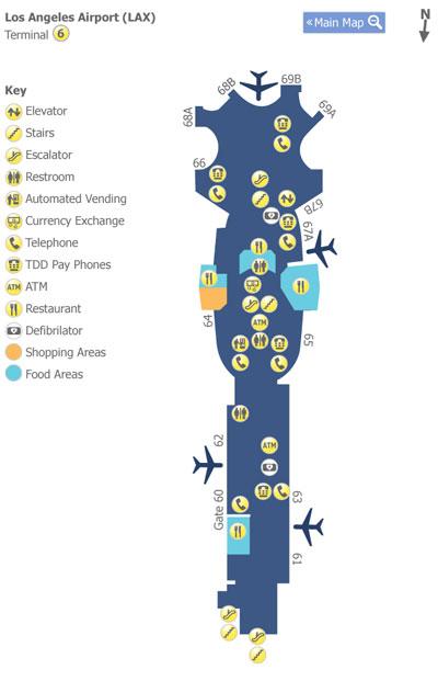 第6ターミナル地図