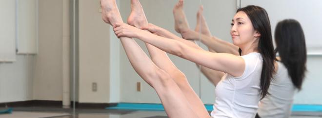 ピラティスで美しい足