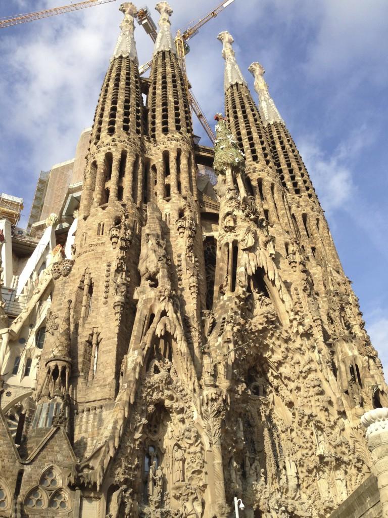 サグラダファミリアに行きました│バルセロナ観光 スペイン