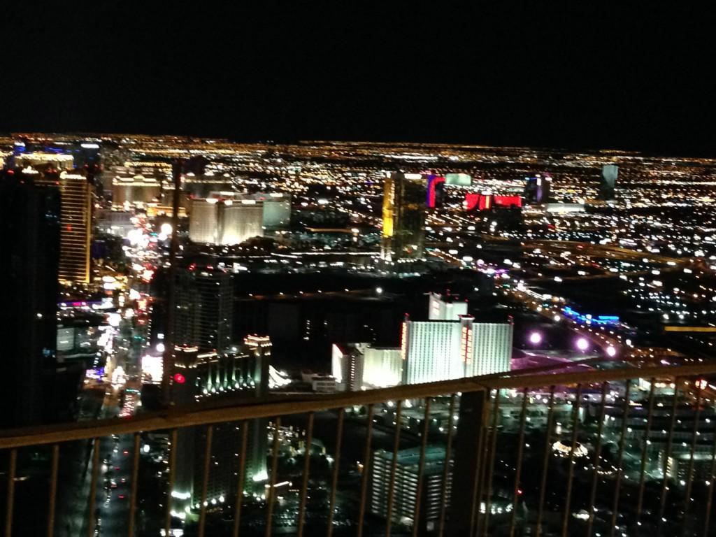 ストラトスフィアタワーからの夜景