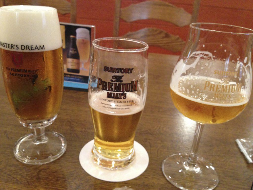 サントリー武蔵野ビール工場見学【無料】で3杯のビール!週末おでかけ・日帰り旅行