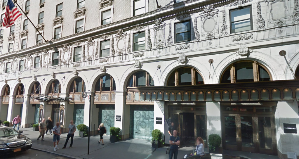 パラマウントホテルはブロードウェイ・ミュージカル旅行におすすめ☆口コミ評判|ニューヨーク