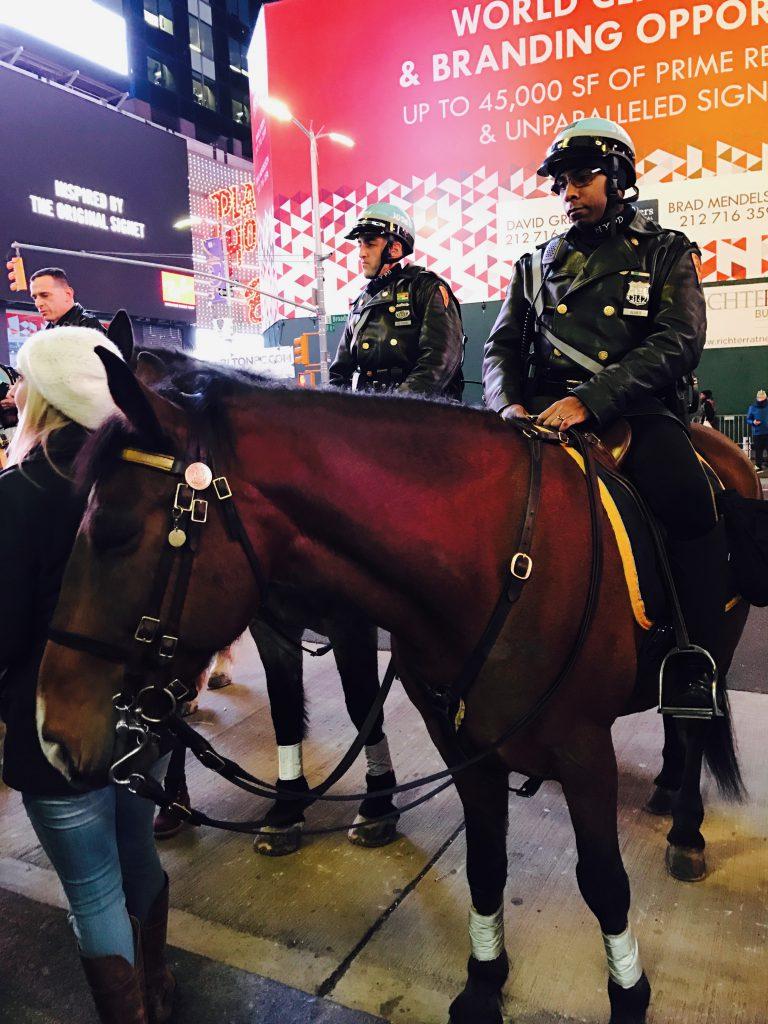 馬に乗ったNYPD