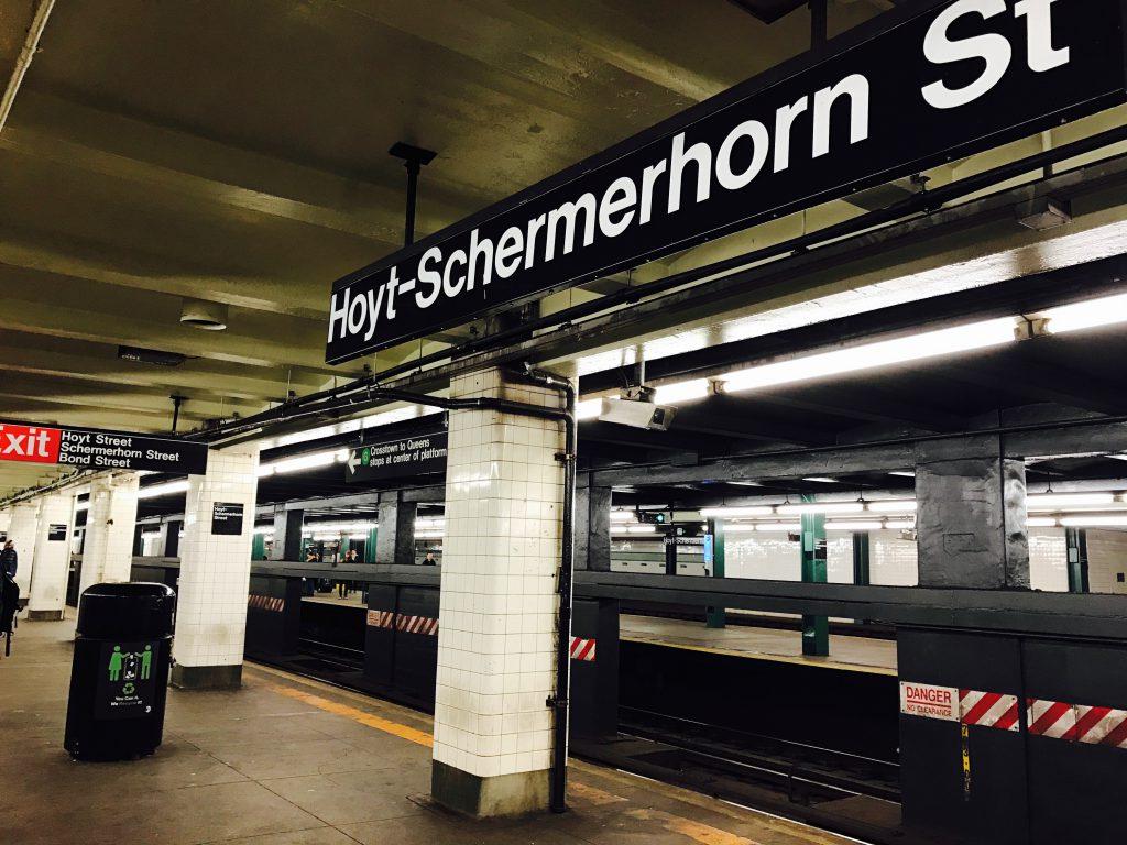 ホイトスカーマーホーン駅ホーム