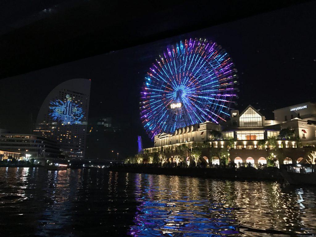 横浜シーバス夜景クルーズが楽しかった!プレゼントが豪華すぎ!口コミ