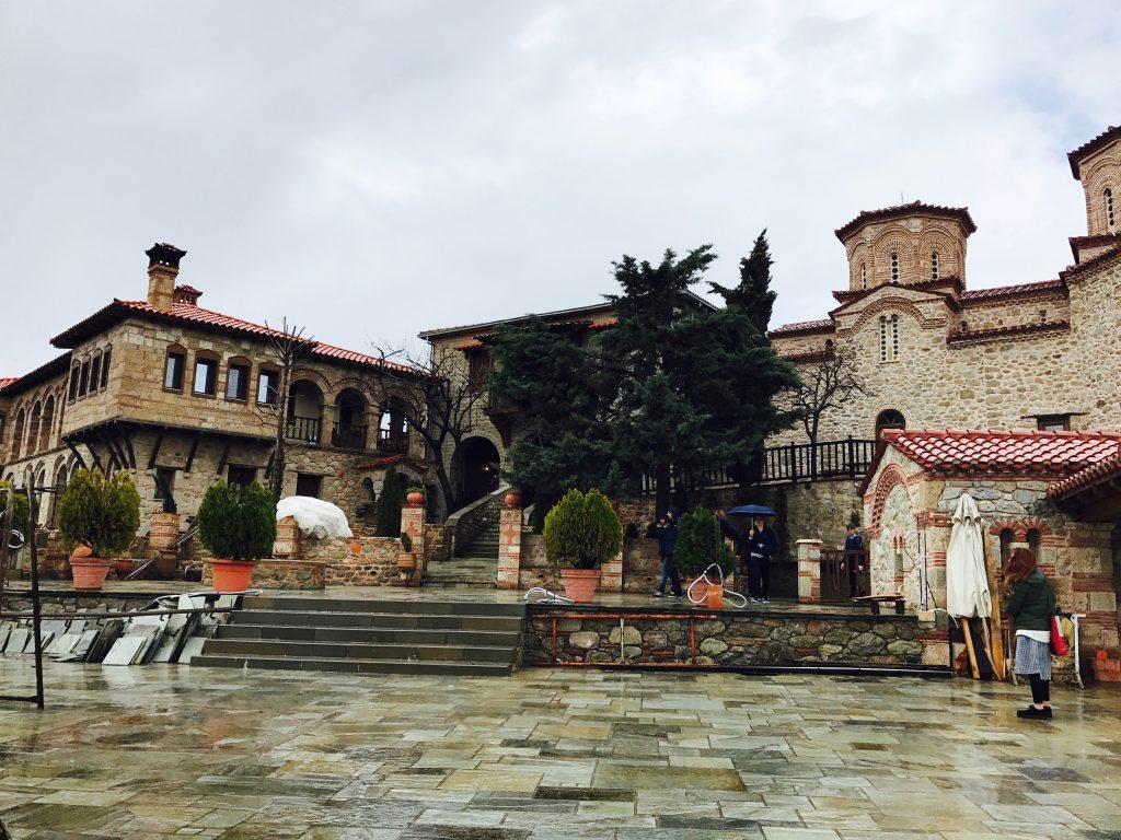 ヴァルラーム修道院バルコニー