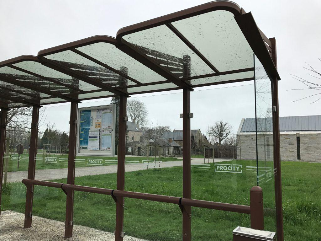 高速バスのバス停