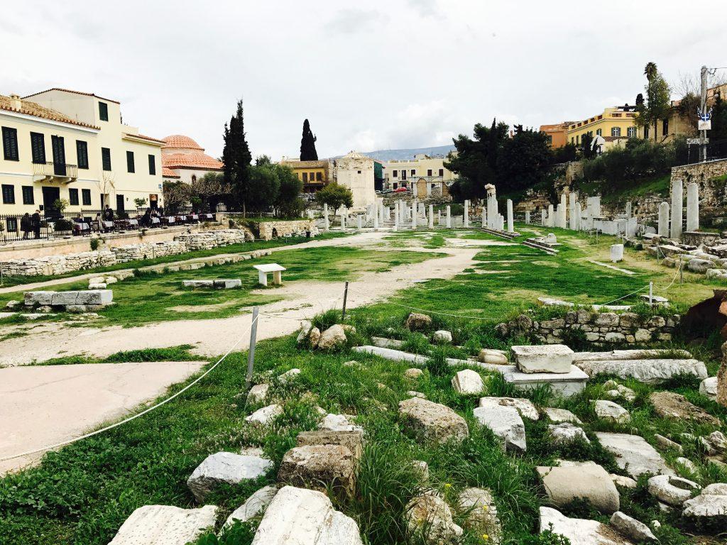 ローマ時代の市場【ローマンアゴラ】見どころ・古代のトイレ|アテネ観光