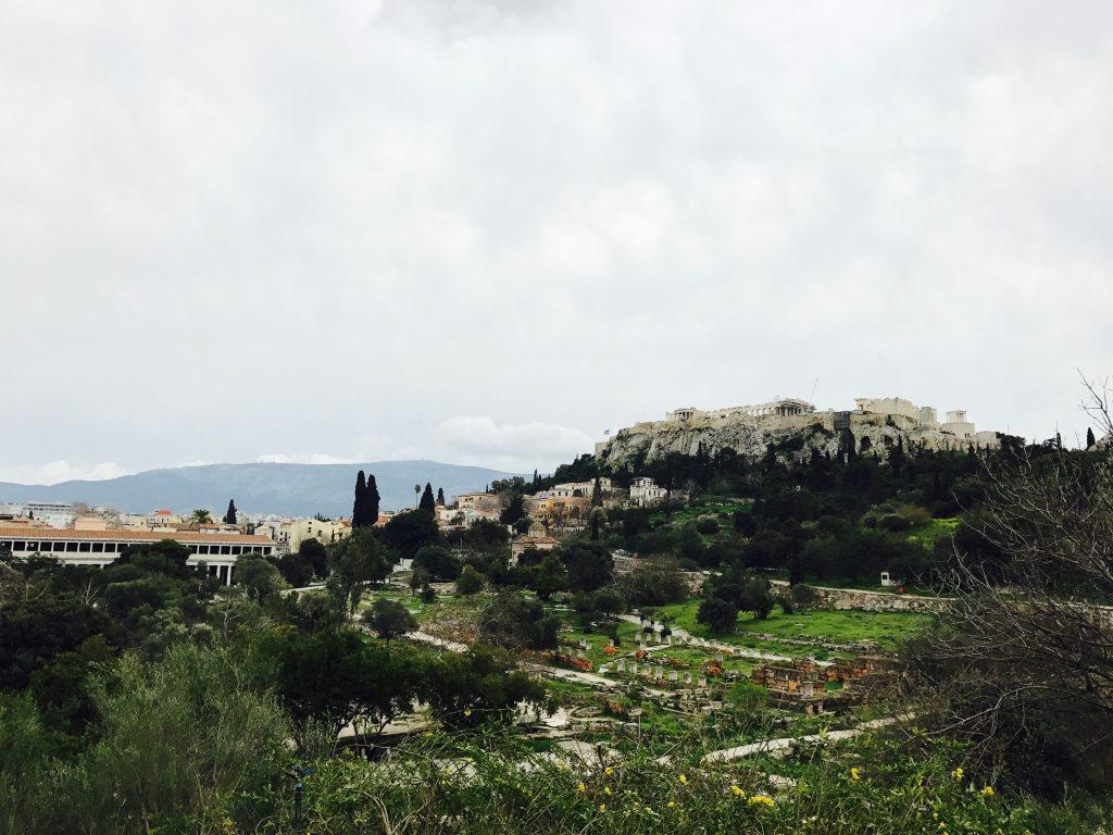 アゴラとアクロポリス
