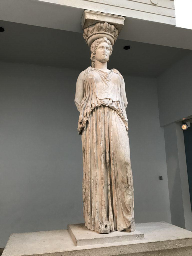 大英博物館の女神像