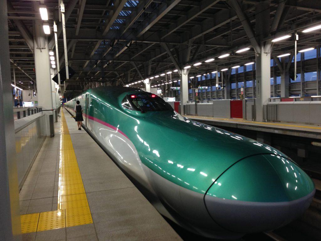 グランクラスに乗ってみました!東北新幹線はやぶさE5系
