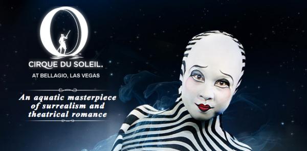 シルクドソレイユ O(オー)の公式チケット予約・購入・受け取り方法|ラスベガス