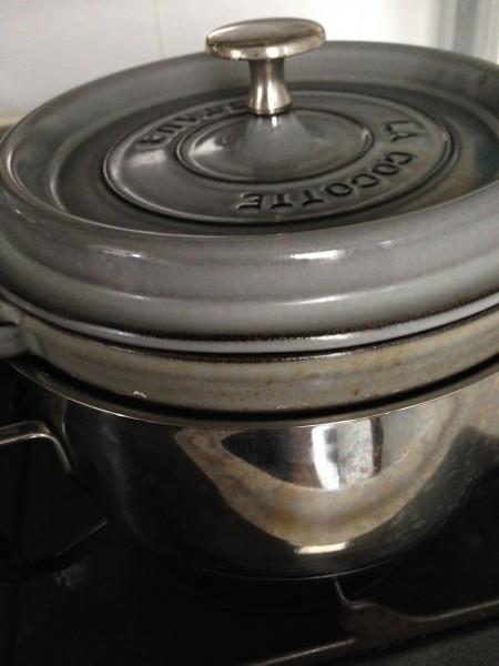 ストウブ in 鍋