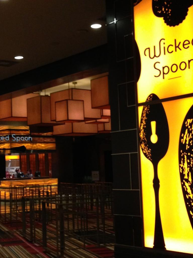 ウィキッドスプーン(Wikid spoon)バフェでランチしました|ラスベガス コスモポリタン