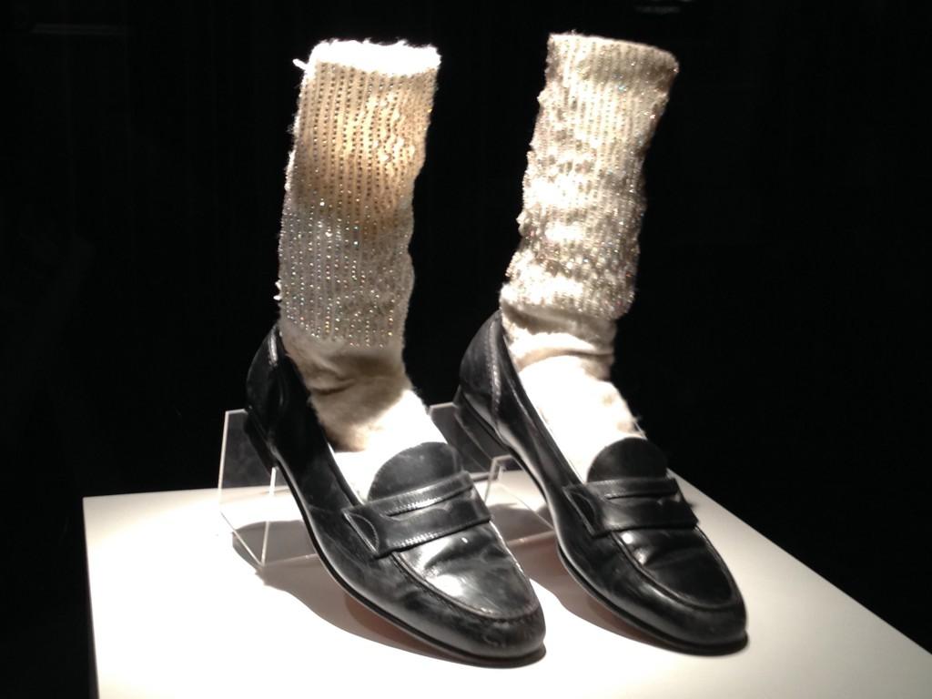 マイケルの靴