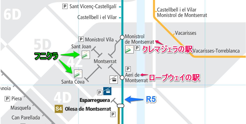 モンセラットの駅