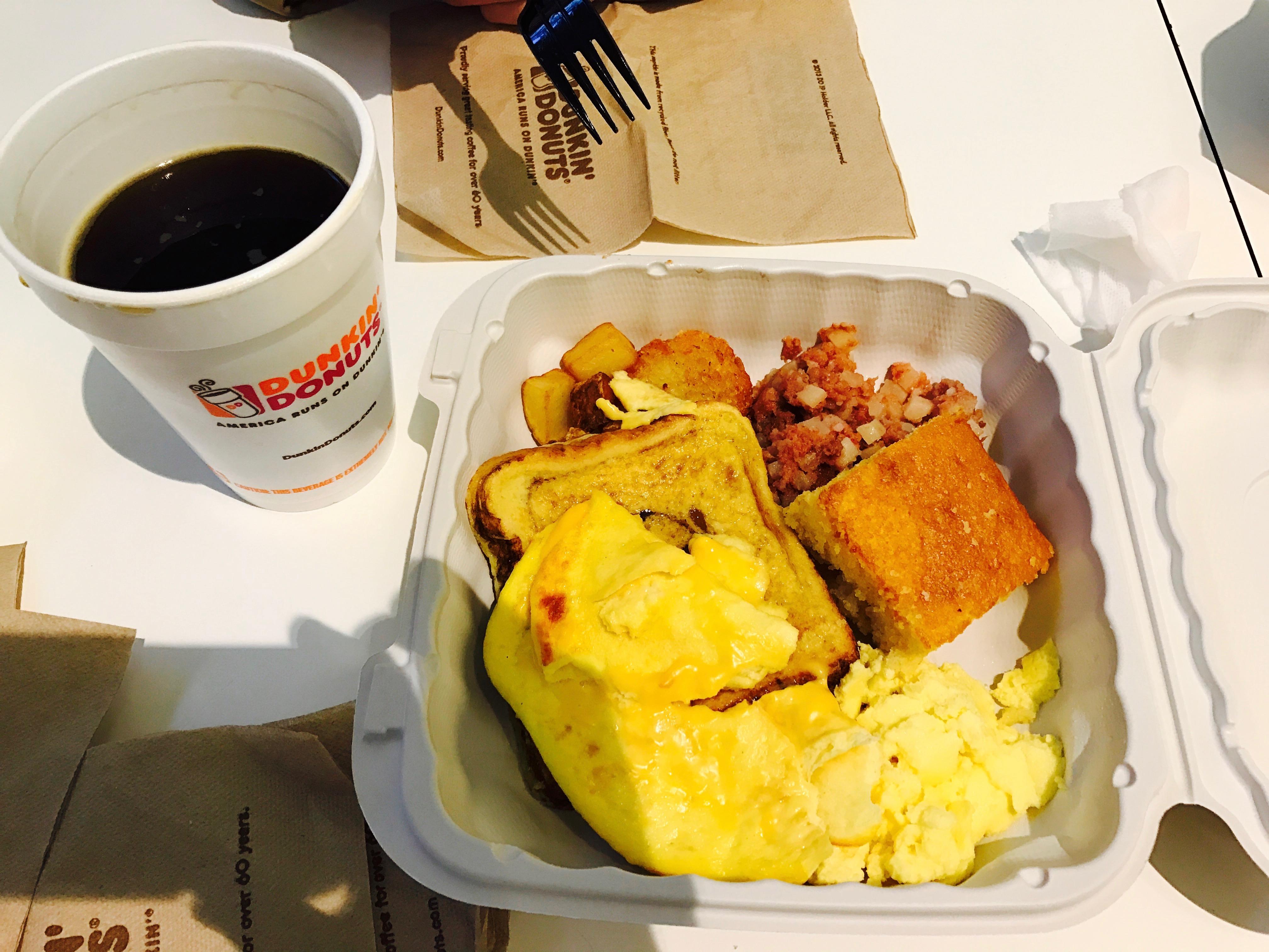 デリの朝食