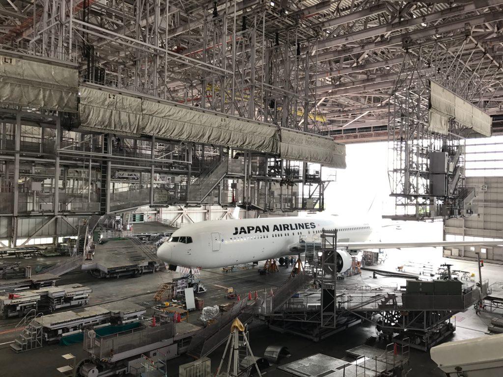JAL工場見学は迫力満点!格納庫&スカイミュージアム|評判口コミ
