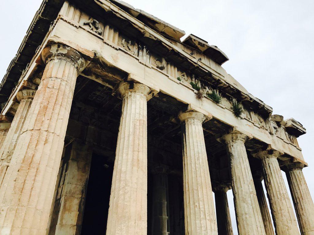 ヘパイストス神殿近影
